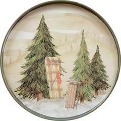 $49.95 Snowy Day Tray