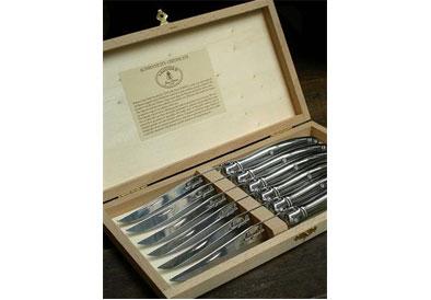 $140.00 Steak Knives, Stainless Steel- Set of 6