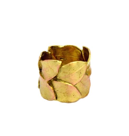 $54.00 Bay Leaf Napkin Rings, Set of 4