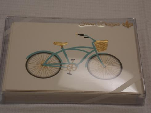 $17.50 Bicycle Note Cards