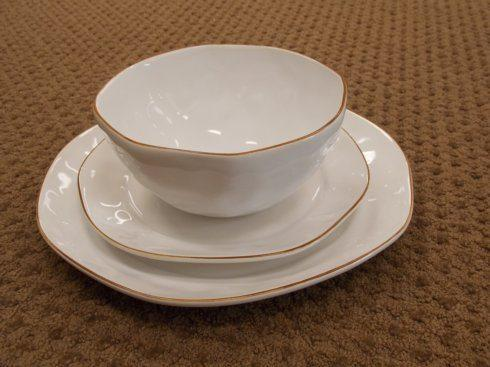 $40.00 Cantaria Dinner Plate White