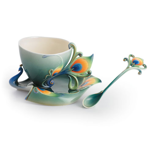 $198.00 Cup, Saucer, Spoon Set