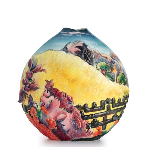 $1,089.00 Vase, Sacred Mountain