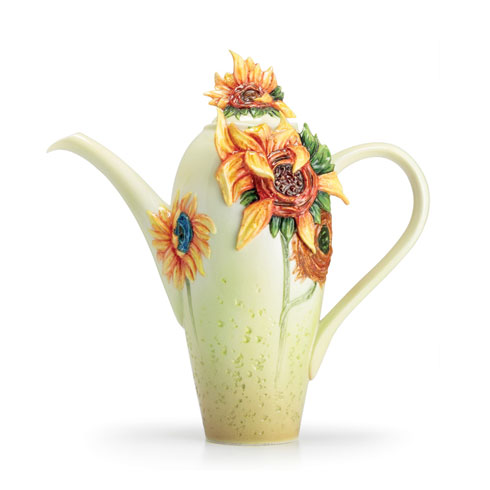 $250.00 Teapot, Sunflowers