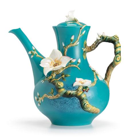 $339.00 Teapot, Almond