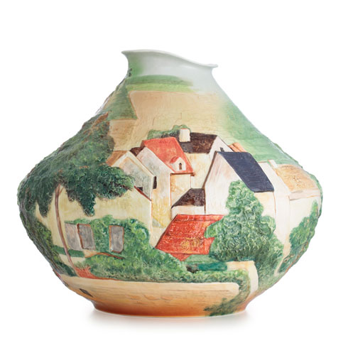 $963.00 Vase, Landscape at Auvers