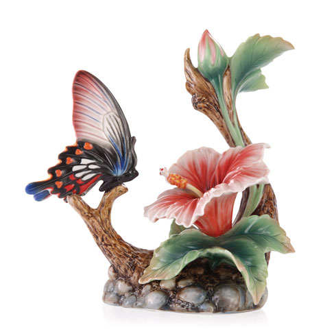 $280.00 Butterfly/Hibiscus