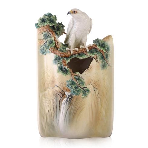 $2,570.00 Vase, White Falcon (LE 688)