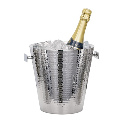 $100.00 Hammered Ice Bucket