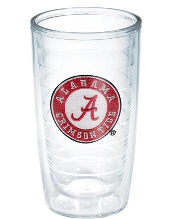 $52.00 Set of four University of Alabama 16 oz tumblers