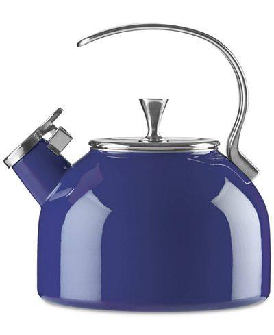 $69.99 All In Good Taste Cobalt Kettle