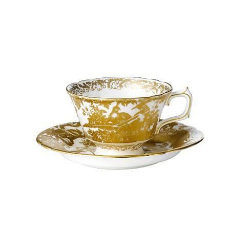 $250.00 Gold Aves Tea Cup and Saucer