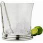 $410.00 Ice Bucket w Handles and Tongs