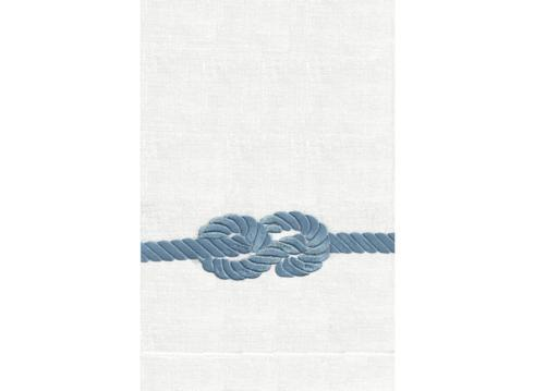 $39.00 Anali Rope Guest Towel Navy