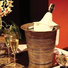 $98.00 Wine & Champagne Holder with Galvanized Bucket