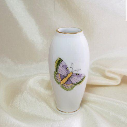 $85.00 Herend Royal Garden Papillon Vase