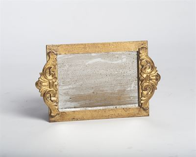 $77.00 Vendome Tray with Antiqued Mirror