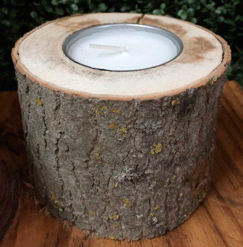 $18.00 Log Cabin Candle