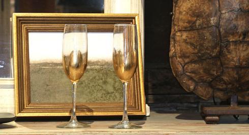 $22.00 Gold Leaf Champagne
