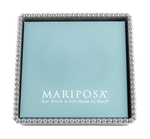 $39.00 Beaded Napkin Box with Insert