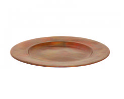 $33.00 Hammered Copper Charger