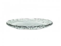 $40.00 Ruffle Glass Round Tray
