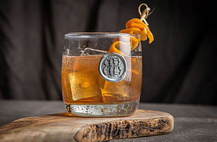 $18.00 Monogram Double Old Fashioned
