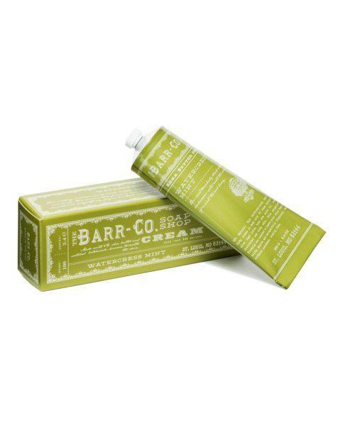 $24.00 Barr Co. Watercress Mint Hand & Body Cream