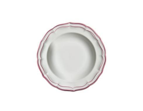 Gien filet rose products for What are canape plates