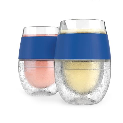 $24.95 Blue Wine Freeze Cups