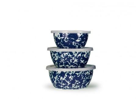 $31.50 Colbalt Swirl Nesting Bowls