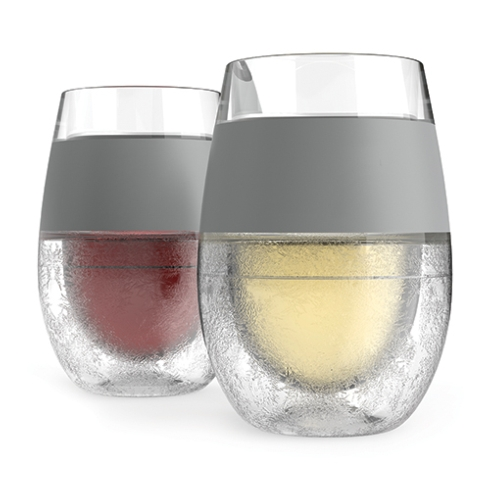 $24.95 Gray Wine Freeze Cups