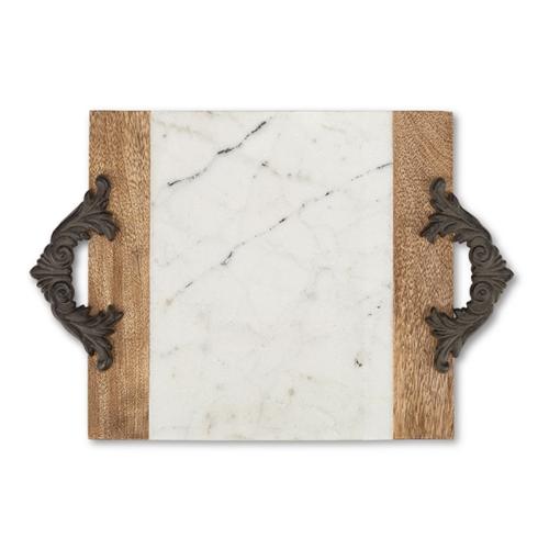 $76.00 Medium Marble Tray