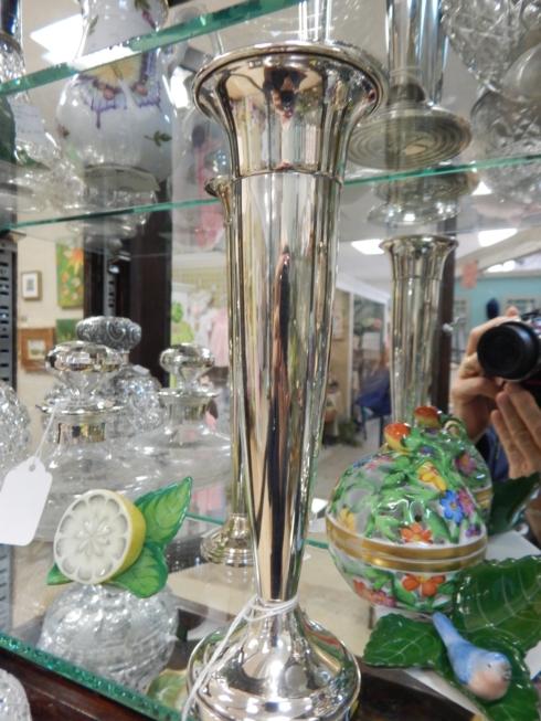 $160.00 Silver Vase