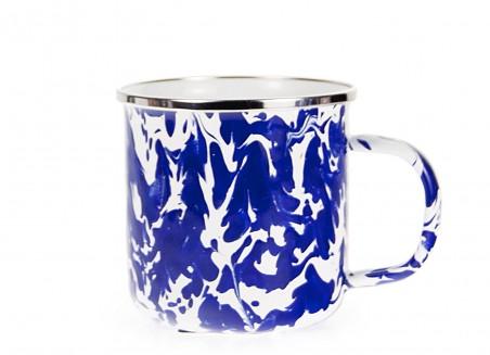 $10.50 Colbalt Swirl Latte Mug