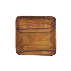 $17.95 Square Wood Plate