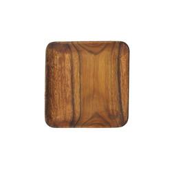 "$15.95 Wood 10"" plate"