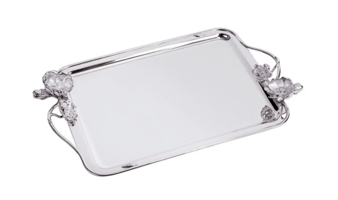 $2,450.00 Anemone-Belle Epoque Small Tray with Handles