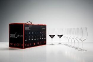 $177.00 Vinum Cabernet Sauvignon/Merlot/Bordeaux Pay 6 Get 8