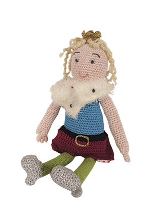 $30.00 Knitted Prince, Crochet
