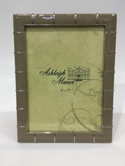"$52.00 Marlene 5"" x 7"" Taupe Frame"