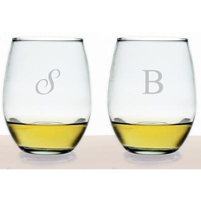 $65.00 Susquehanna Glass Stemless Wine Glass (Set of 4)