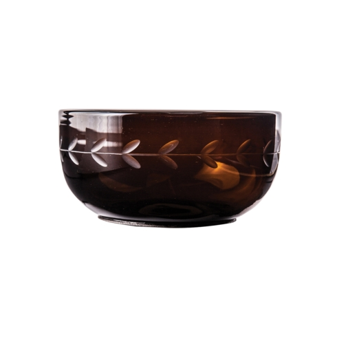 $108.00 Chocolate Henderson Glass Bowl