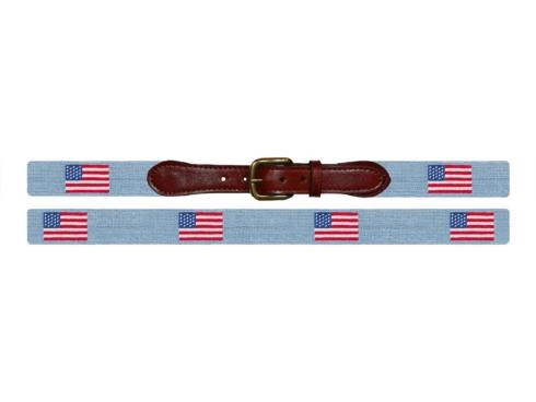 $165.00 American Flag (Antique Blue) Belt