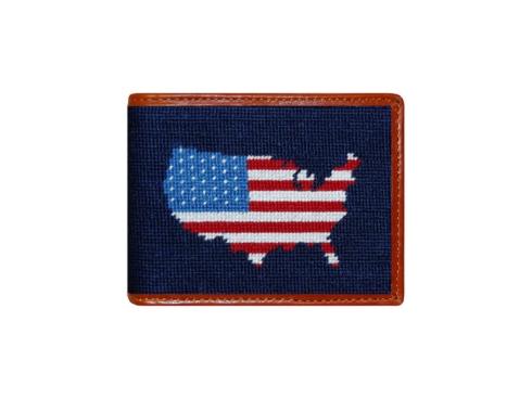 $115.00 Americana Bi-Fold Wallet