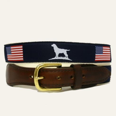 $50.95 Ribbon Belt American Flag