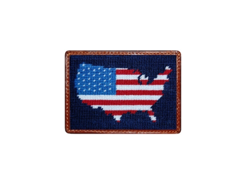 $55.00 American Flag CC Wallet