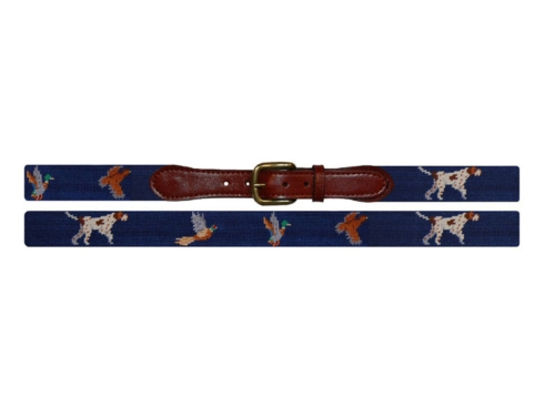 $165.00 Bird Dog Needle Point Belt