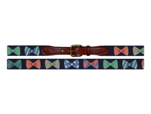 $165.00 Bow Ties (Navy) Belt