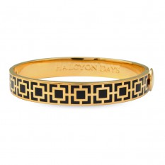 $185.00 Mosaic Bangle Black/Gold